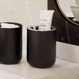 Menu Zahnbürstenbehälter schwarz matt