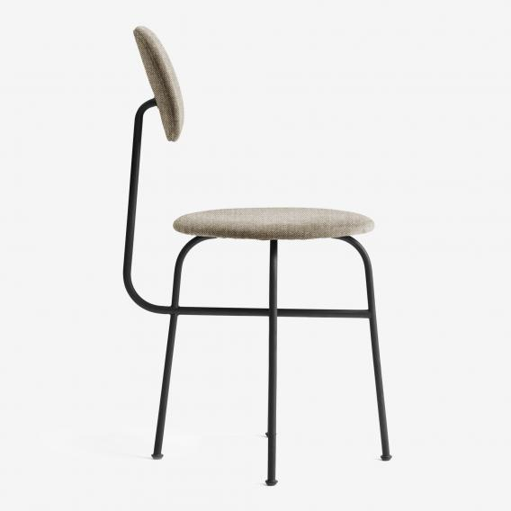 Menu Afteroom Plus Stuhl B: 524 H: 800 T: 510 mm, schwarz/cappuccino 8450001#Gestell#schwarz#Remix 233