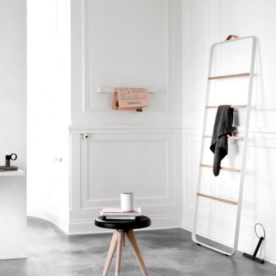 Menu Comfort Handtuchleiter weiß/esche