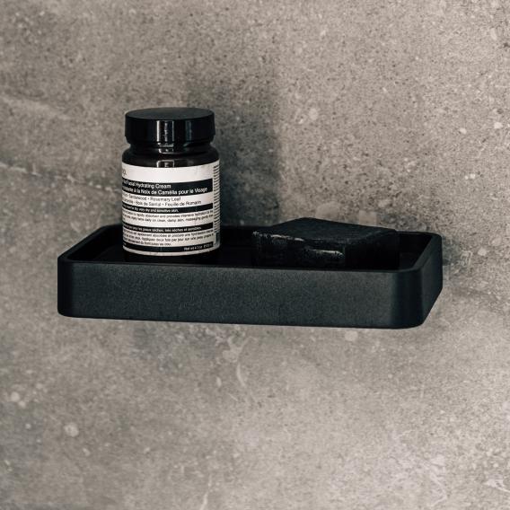 Menu Duschablage mit Marmorplatte schwarz