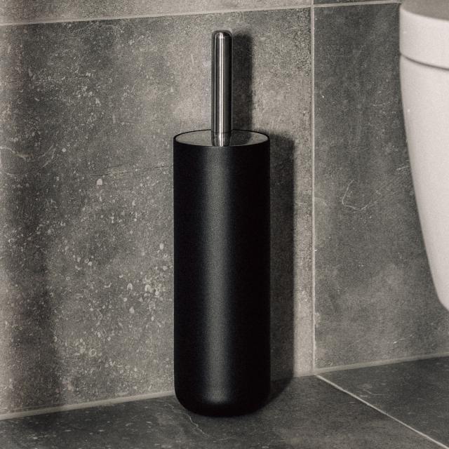 Menu Toilettenbürstengarnitur schwarz matt