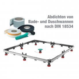 MEPA Duschwannen-Set MR Extraflach Acryl