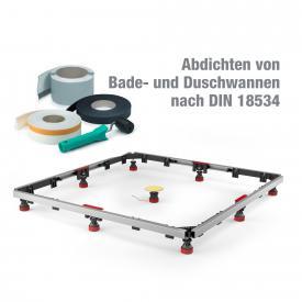 MEPA Duschwannen-Set MR Extraflach Universal