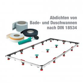 MEPA Duschwannen-Set MR Extraflach XL