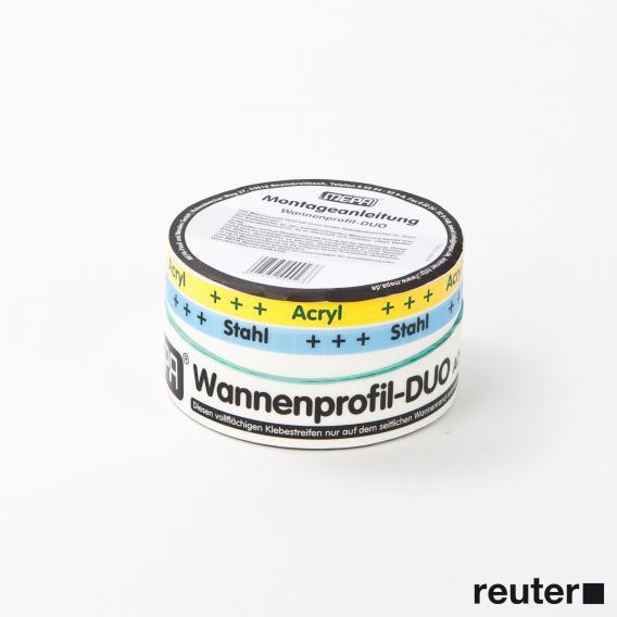 MEPA-Wannenprofil-DUO Länge 3,30 m