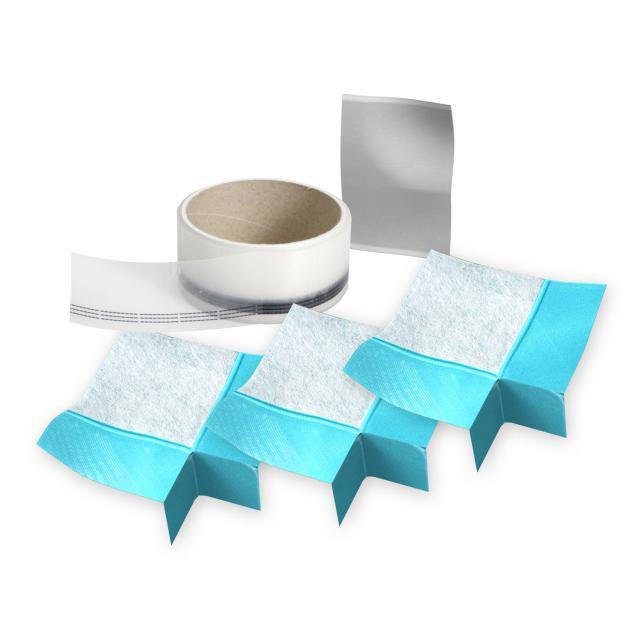 MEPA Wannendichtband Aquaproof 3D Ergänzungs-Set, 3 Stück