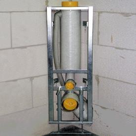 Missel Kompakt-Spülrohr MSR 6 Liter für Wand-WC, H: 96 cm DN 100