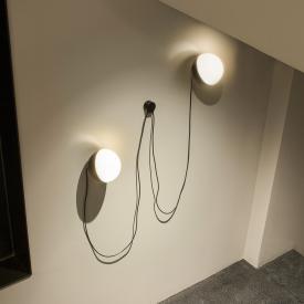 Milan 2-fach Wandhalterung mit Neodym Magnet für Half 16 P. Tischleuchte