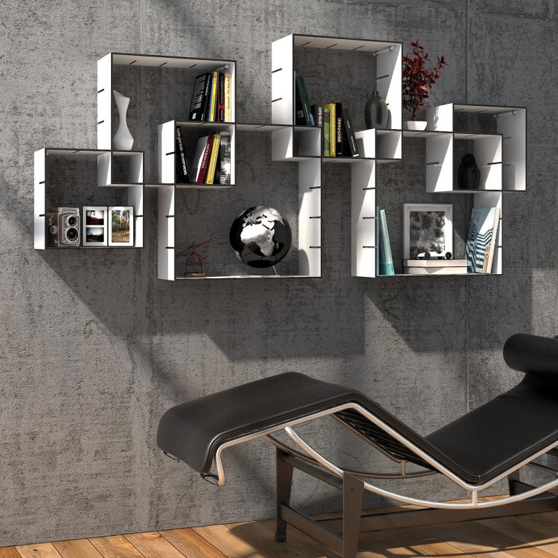m ller konnex regal stecksystem 3er set kx200 200 reuter. Black Bedroom Furniture Sets. Home Design Ideas