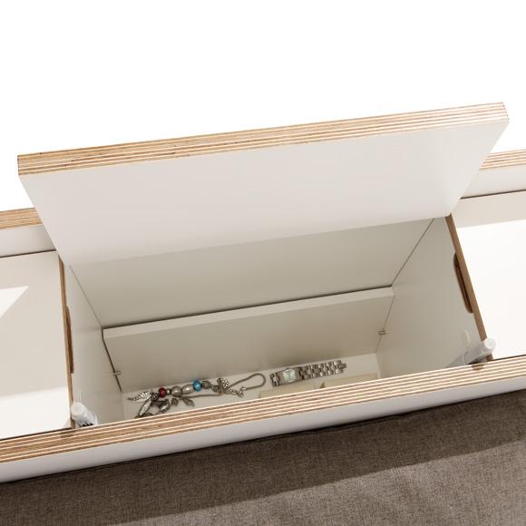 doppelbett mit stauraum cheap bett mit stauraum saveni x cm with doppelbett mit stauraum. Black Bedroom Furniture Sets. Home Design Ideas