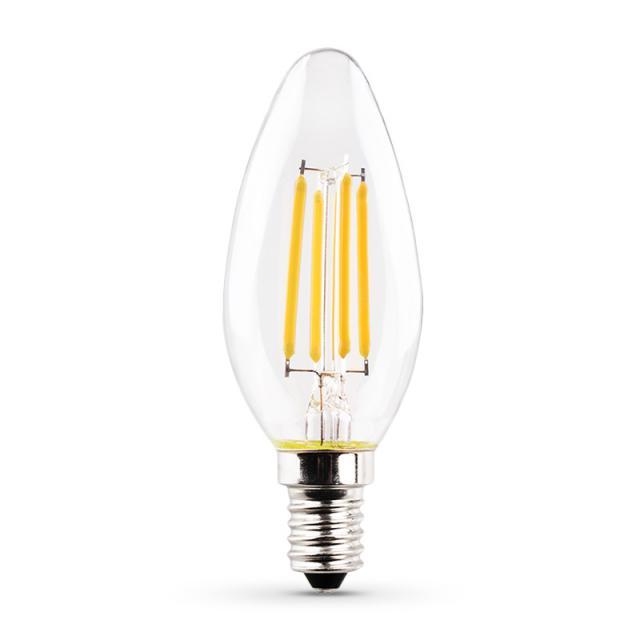 MÜLLER-LICHT LED Filament B35 E14, klar