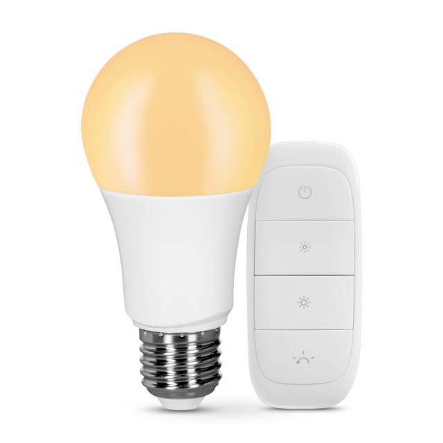 MÜLLER-LICHT tint Starter-Set LED dimming E27, mit Fernbedienung
