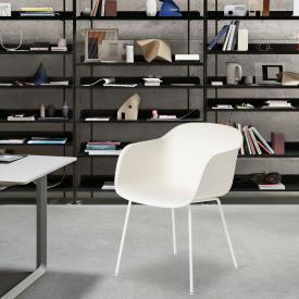 Muuto Fiber Stuhl mit Armlehnen
