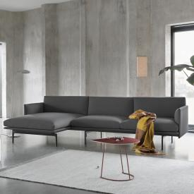 Muuto Outline Ecksofa mit Chaiselongue links
