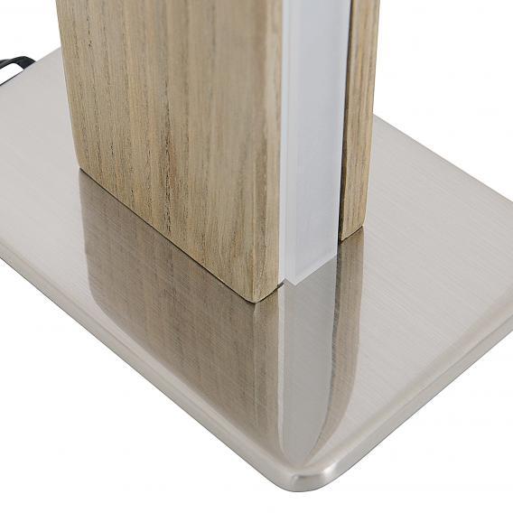 Näve Wood LED Tischleuchte mit Dimmer
