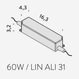 NEMO LED Treiber für LINESCAPES WALL Wandleuchte
