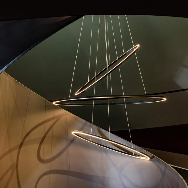 NEMO ELLISSE TRIPLE LED Pendelleuchte