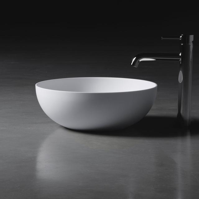 neoro n50 Aufsatzwaschtisch Ø 40 H: 14 cm, mit pflegeleichter Oberfläche