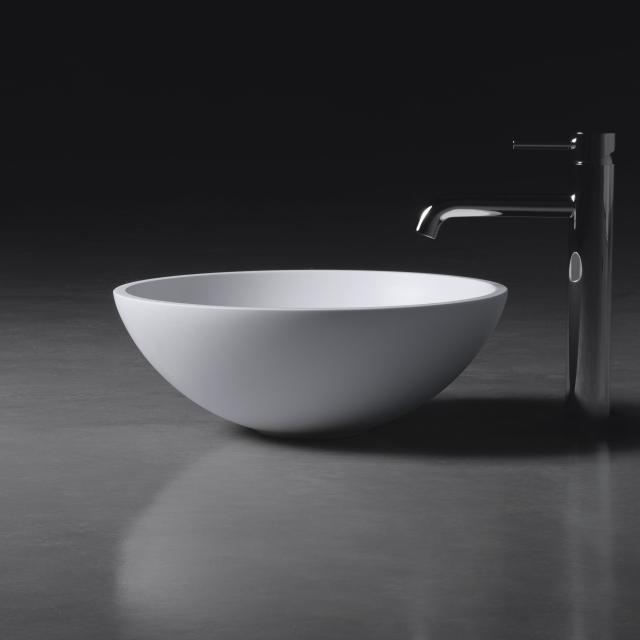 neoro n50 Aufsatzwaschtisch Ø 40 H: 15 cm, mit pflegeleichter Oberfläche