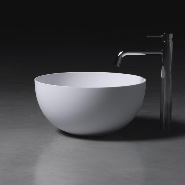 neoro n50 Aufsatzwaschtisch Ø 45 H: 22 cm, mit pflegeleichter Oberfläche