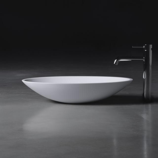 neoro n50 Aufsatzwaschtisch B: 58 H: 12 T: 42 cm, mit pflegeleichter Oberfläche