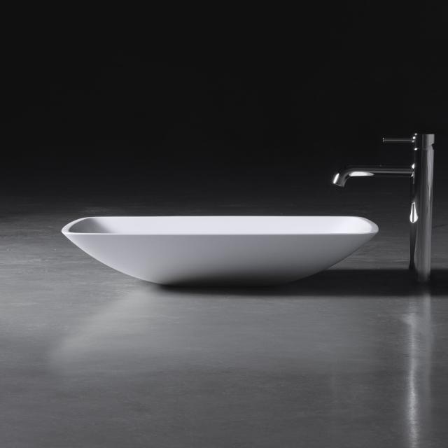 neoro n50 Aufsatzwaschtisch B: 63 H: 12 T: 42 cm, mit pflegeleichter Oberfläche