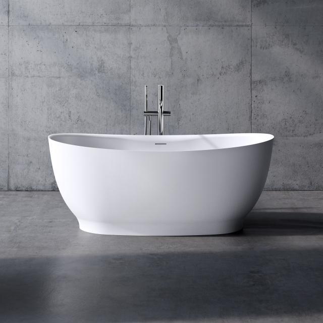 neoro n50 Freistehende Badewanne L: 150 B: 76 H: 60 cm, mit pflegeleichter Oberfläche