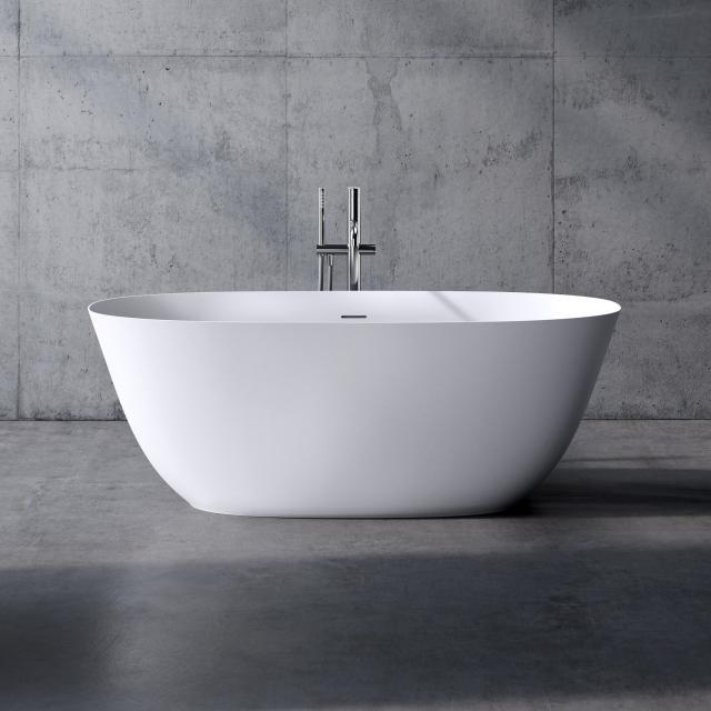 neoro n50 Freistehende Badewanne L: 160 B: 70 H: 58 cm, mit pflegeleichter Oberfläche