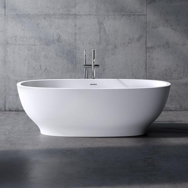 neoro n50 Freistehende Badewanne L: 175 B: 80 H: 55 cm, mit pflegeleichter Oberfläche