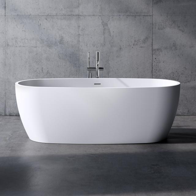 neoro n80 Freistehende Badewanne L: 180 B: 80 H: 59,7 cm, mit pflegeleichter Oberfläche