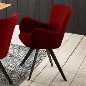 Niehoff AVALON Stuhl mit Armlehnen und Stativgestell
