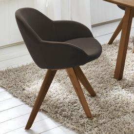 Niehoff COPPA Stuhl mit Armlehnen, drehbar