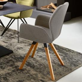 Niehoff MERLOT Stuhl mit Armlehnen und Stativgestell