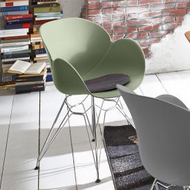 Niehoff SUSHI Stuhl mit Armlehnen und Stativgestell
