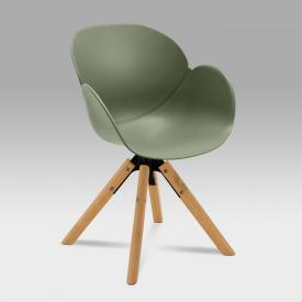 Niehoff SUSHI Stuhl mit Armlehnen und Stativgestell, drehbar