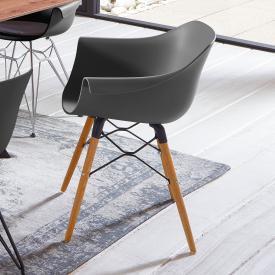 Niehoff TULIP Stuhl mit Armlehnen