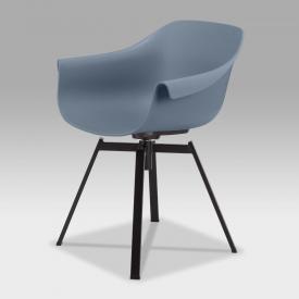 Niehoff TULIP Stuhl mit Armlehnen und Stativgestell