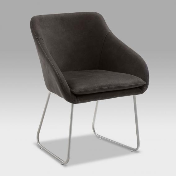 Niehoff COMFORTA Stuhl mit Armlehnen und Kufen, drehbar