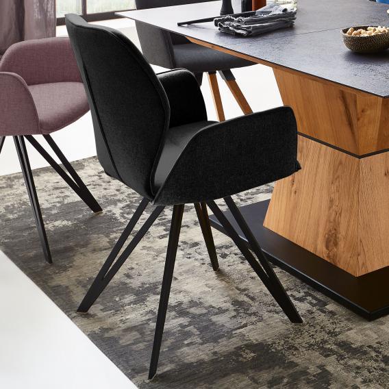 Niehoff MERLOT Stuhl mit Armlehnen, drehbar