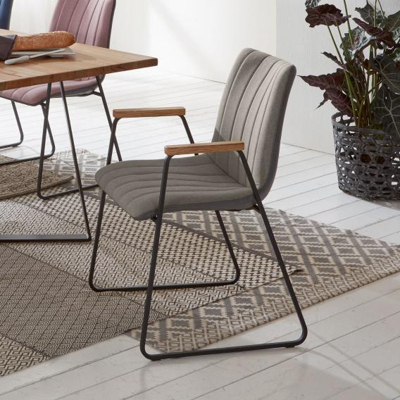 Niehoff TIME Design Stuhl mit Armlehnen