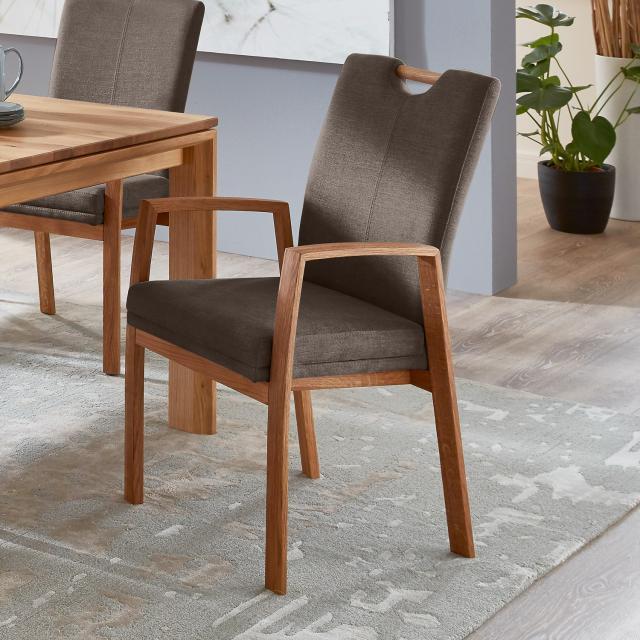 Niehoff COMO Stuhl mit Armlehnen und Griff
