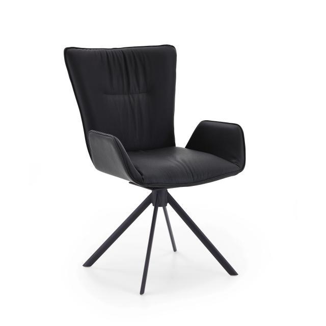 Niehoff GLAMOUR Stuhl mit Armlehnen und Stativgestell