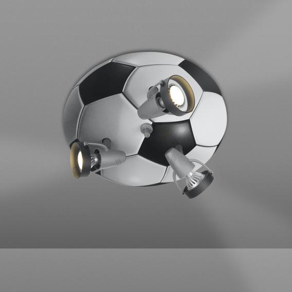 Niermann Standby Fußball Deckenleuchte/Spot 3-flammig