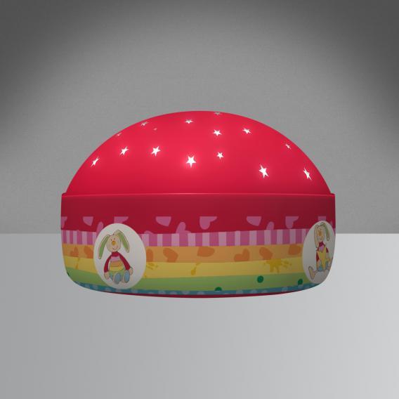 Niermann Standby Rainbow Rabbit LED Nachtlicht Tischleuchte mit Dimmer