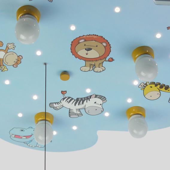 Niermann Standby Wilde Tiere LED Deckenleuchte