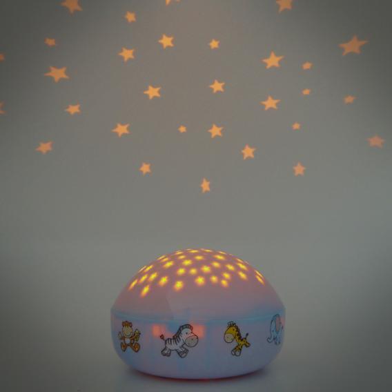 Niermann Standby Wilde Tiere LED Nachtlicht Tischleuchte mit Dimmer