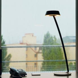 Oligo Plus GLANCE LED Tischleuchte gebogen mit Dimmer