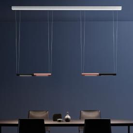 OLIGO SLACK-LINE BREAK-IT LED Pendelleuchte mit Dimmer, 4-flammig