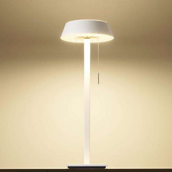 Oligo Plus GLANCE LED Tischleuchte gerade mit Dimmer