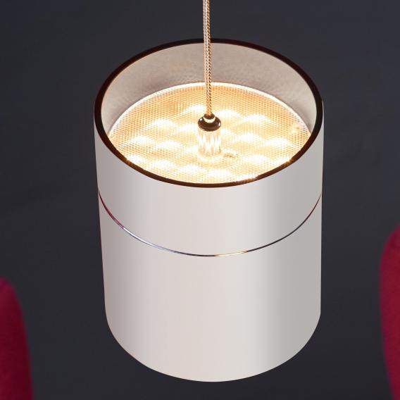 Oligo TUDOR M LED Pendelleuchte mit Höhenverstellung und Dimmer, 3-flammig